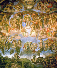 Michelangelo__fresco_of_the_last__2